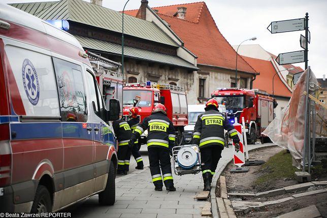 Zginął robotnik na Wawelu. Przysypany podczas prac