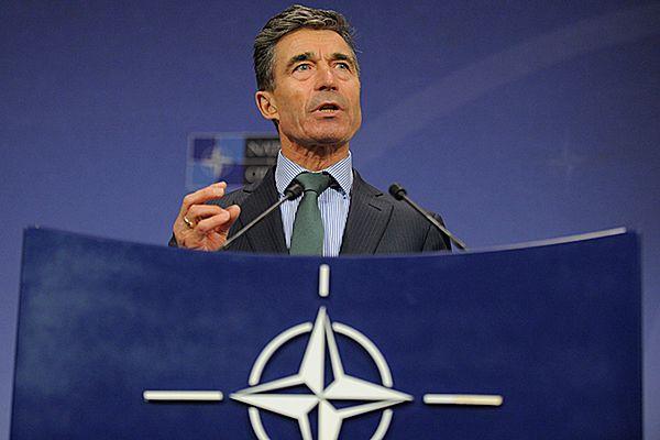 Sekretarz generalny NATO Anders Fogh Rasmussen