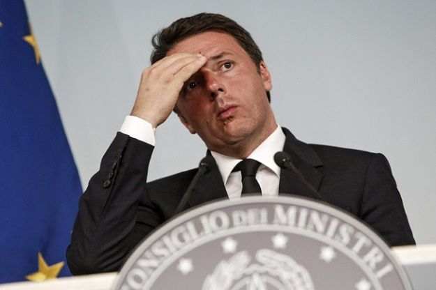 Premier Włoch Matteo Renzi rezygnuje w wyniku przegranego referendum
