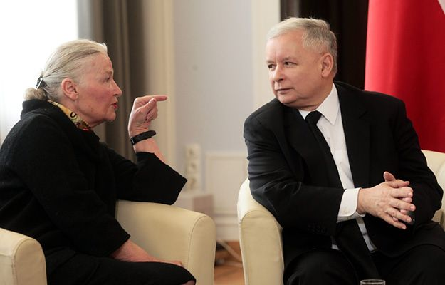 """""""Powiedziałabym mu, że jego brat Lech Kaczyński postąpiłby inaczej"""""""