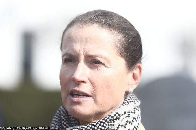 Monika Jaruzelska skomentowała weto prezydenta