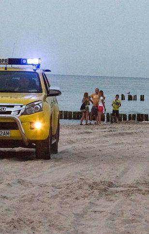 Pomorskie. Tragedia w Rozewiu. Ciało dryfowało kilkanaście metrów od brzegu