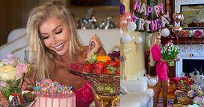 Julia Dybowska świętuje trzydziestkę w londyńskiej rezydencji 60-letniego chłopaka-miliardera (FOTO)