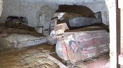 Historyczne odkrycie w Egipcie. Trumny i artefakty sprzed 3 tys. lat