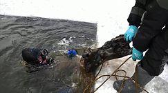 Niebywała rzeka w Rosji. Zobacz, co ludzie znajdują na dnie