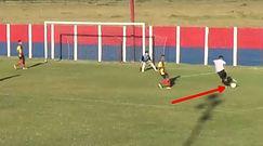 #dziejesiewsporcie: przyjrzyj się dokładnie, co on zrobił! Fantastyczny gol piłkarza-amatora