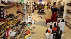 Zaskoczenie w sklepie obuwniczym. Zobacz, co zastali policjanci