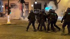 Francuska policja użyła gazu wobec kibiców PSG