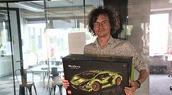 Lamborghini Sian z klocków Lego. Unboxing gigantycznego zestawu