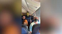 Wybuch silnika samolotu. Pasażerowie modlili się o ratunek