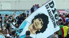 Argentyna przygotowuje się do pogrzebu Maradony