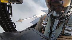 Myśliwiec F-15 w akcji. Niszczenie celu uchwycone na wideo