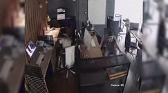 Trzęsienie ziemi zaskoczyło ich w pracy. Nagranie z Turcji