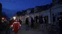 Trzęsienie ziemi. Nagranie z Chorwacji
