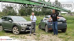 Mazda CX-5 vs Subaru Forester - który SUV powiększy Twoją rodzinę?