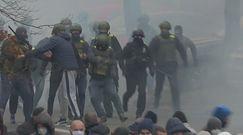 Łukaszenka nie odpuszcza. Brutalna reakcja milicji na Białorusi