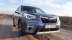 Subaru Forester e-boxer - wymyka się z definicji SUV-a