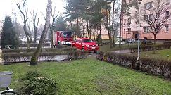 Pożar w Lesznie. Strażacy interweniowali przy ul. Czechosłowackiej