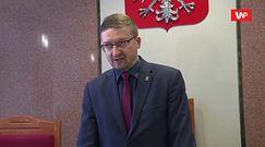 """Paweł Juszczyszyn wydał oświadczenie. """"Pozostaję gotowy do wykonywania obowiązków służbowych"""""""