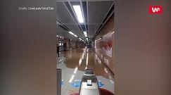 Metro pod wodą. Przerażające nagranie świadka