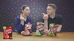 """Testowali nowe smaku chipsów. """"Powinny mi wyjść oczy z orbit"""""""