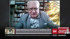 Prof. Krzysztof Simon o rekacjach na szczepionkę osób, które miały wcześniej wstrząsy anafilaktyczne