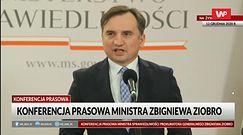 """Zbigniew Ziobro nazywa opozycję """"miękiszonem"""""""