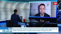 Jarosław Kaczyński uderza w KO. Rafał Trzaskowski odpowiada prezesowi PiS