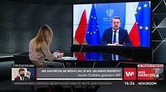 """Jarosław Gowin dla WP o """"wymachiwaniu szabelką"""". Jest reakcja z obozu Zbigniewa Ziobry"""