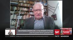Paszport dla ozdrowieńców. Prof. Simon o nabytej odporności (WIDEO)