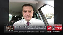 Poseł został wolontariuszem na oddziale COVID-19. Marcin Porzucek mówi, jak wygląda walka z pandemią (WIDEO)