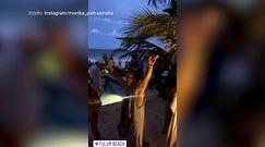 Monika Pietrasińska bawi się w Meksyku na imprezie PEŁNEJ LUDZI bez maseczek