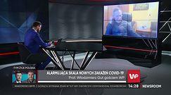 """Łukasz Szumowski zakażony. Prof. Włodzimierz Gut wyjaśnia jego słowa o """"fałszywie dodatnim"""" teście"""