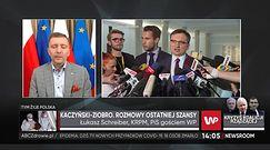 Zbigniew Ziobro i brak lojalności. Łukasz Schreiber o żądaniach PiS