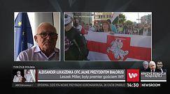 Białoruś. Aleksander Łukaszenka zaprzysiężony na prezydenta. Leszek Miller nie może darować UE sankcji