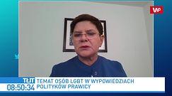 """""""Strefy wolne od LGBT"""" na tapecie UE. Beata Szydło: osobiście zwróciłam się do Ursuli von der Leyen"""