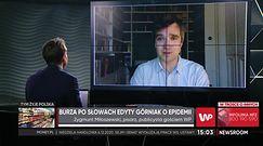 """Zygmunt Miłoszewski o Edycie Górniak: """"To, co robi, to zdrada etosu zawodowego"""""""