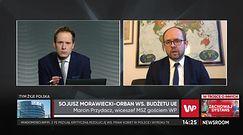 """Morawiecki i negocjacje z Merkel. Wiceminister o """"dyskusji o przyszłości Unii Europejskiej"""""""