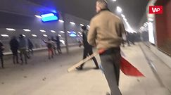 Marsz Niepodległości. Zamieszki na stacji Warszawa Stadion
