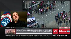 Marsz Niepodległości 2020. Szef NSZZ Policjantów Rafał Jankowski o Robercie Bąkiewiczu