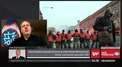 Marsz Niepodległości 2020. Szef NSZZ Policjantów Rafał Jankowski mówi o koźle ofiarnym