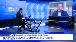Łukasz Szumowski o rezygnacji. Były minister zdradza kulisy decyzji