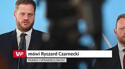 Łukasz Szumowski odchodzi. Ryszard Czarnecki: był tarczą strzelniczą dla mediów i opozycji