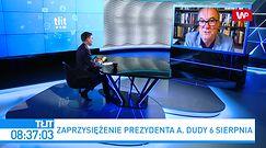 """Zaprzysiężenie prezydenta Andrzeja Dudy. Włodzimierz Czarzasty ostro o bojkocie opozycji. """"Trzeba mówić prawdę"""""""