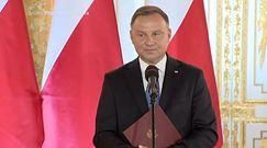 Ważna uroczystość Andrzeja Dudy. Jarosław Kaczyński przyszedł spóźniony