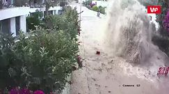 Wodna eksplozja. Nagranie z tureckiego miasta