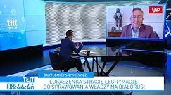 Białoruś. Aleksander Łukaszenka oskarża Polskę o chęć rozbioru. Były szef MSW: to przyspiesza jego koniec