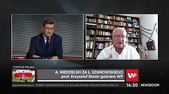 """Koronawirus w Polsce. Prof. Krzysztof Simon zachwycony nowym ministrem zdrowia. """"Umie liczyć pieniądze"""""""