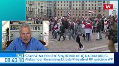 Białoruś. Aleksander Kwaśniewski o zbliżającym się końcu reżimu