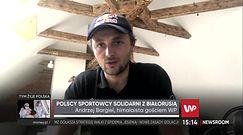 """Polskie gwiazdy sportu solidarne z Białorusią. """"Warto wspierać ruchy, które walczą o wolność"""""""